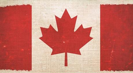 canada-flag-on-canvas